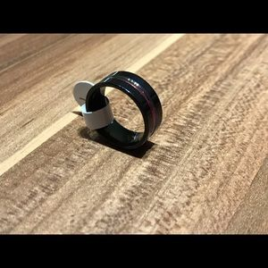 Other - Stainless Steel Black Ring - 7